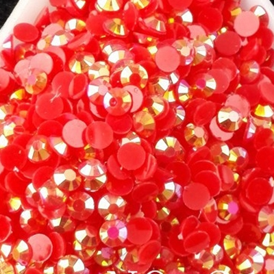 Strass 3mm - 10 000 pièces - AB Red