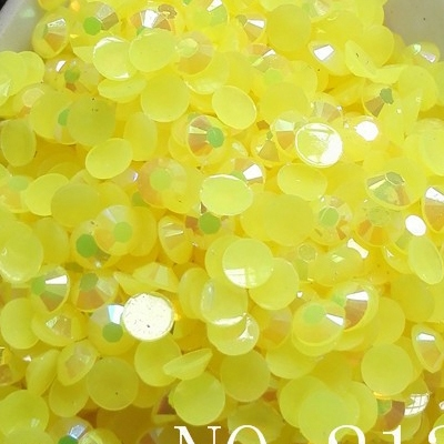 Strass 3mm - 10 000 pièces - AB Lemon Yellow
