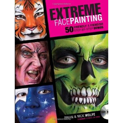 Livre Extreme Face Painting - WOLFE