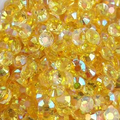 Strass 3mm - 10 000 pièces - AB Gold Yellow