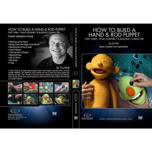 DVD BJ Guyer : How to Build a Hand & Rod Puppet Part 3 - Final Assembly