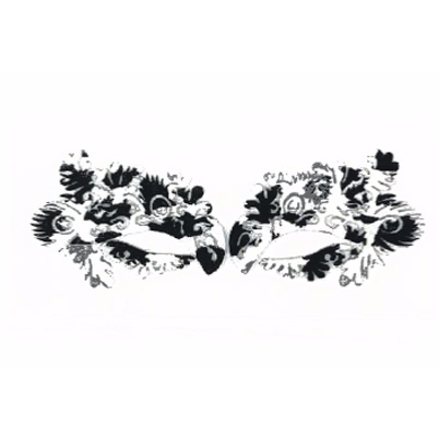 Autocollant Eye Mask Sticker 9