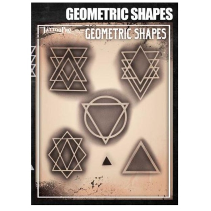 Pochoir Tattoo Pro - Stencils Geometric Shape