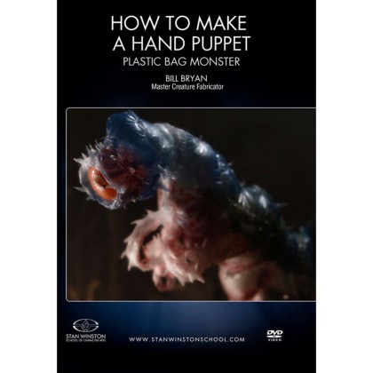 DVD Bill Bryan : How To Make A Hand Puppet - Plastic Bag Monster