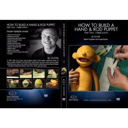 DVD BJ Guyer : How to Build a Hand & Rod Puppet Part 1 - Understructure