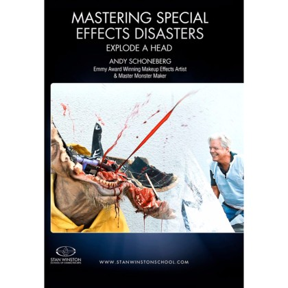 DVD Andy Schoneberg : Mastering Special Effects Disasters - Explode a Head