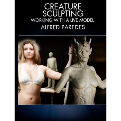 DVD Alfred Paredes : Creature Sculpting - Working with a Live Model