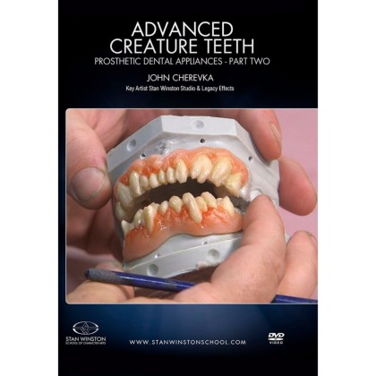 DVD John Cherevka : Advanced Creature Teeth: Prosthetic Dental Appliances Part 2