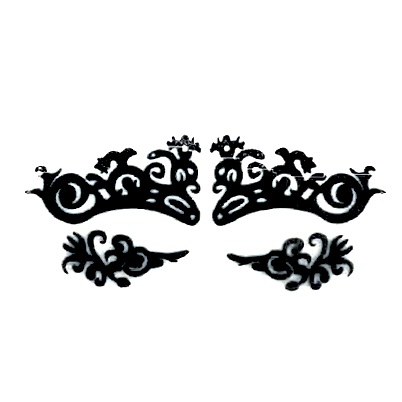 Autocollant Eye Mask Sticker 14
