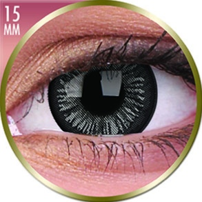 Lentilles Big Eyes 15mm - 3 mois - Lovely Grey