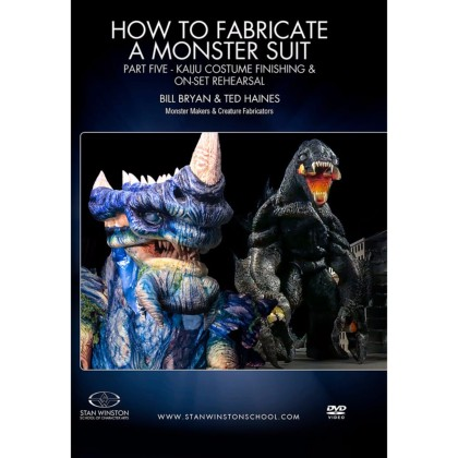 DVD Bill Bryan & Ted Haines : How to fabricate a monster suit. Part 5
