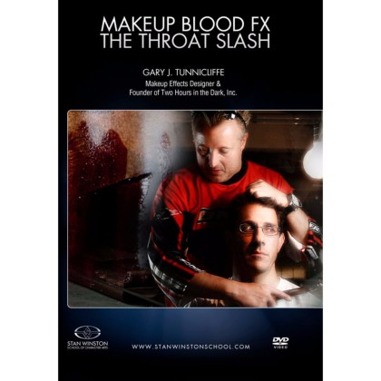 DVD Gary J. Tunnicliffe : Makeup Blood FX - The Throat Slash