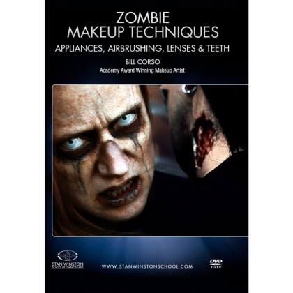 DVD Bill Corso : Zombie Makeup - Appliances, Airbrushing, Lenses & Teeth