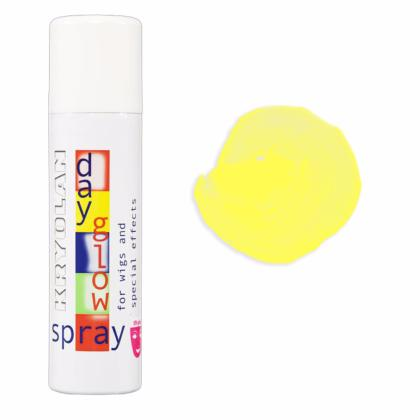 Spray colorant FLUO pour les cheveux UV Day Glow Spray 150ml JAUNE