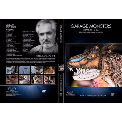 DVD Shannon Shea : Garage Monsters