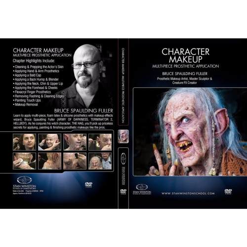 DVD Bruce Spaulding Fuller : Character Makeup - Multi-Piece Prosthetic Application