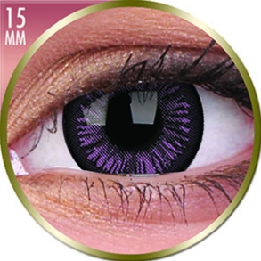 Lentilles Big Eyes 15mm - 3 mois - Passionate Purple
