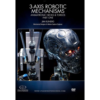 DVD Jim Kundig : 3-Axis Robotic Mechanisms - Animatronic Necks & Torsos - Pt.1