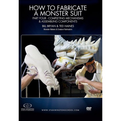 DVD Bill Bryan & Ted Haines : How to fabricate a monster suit. Part 4