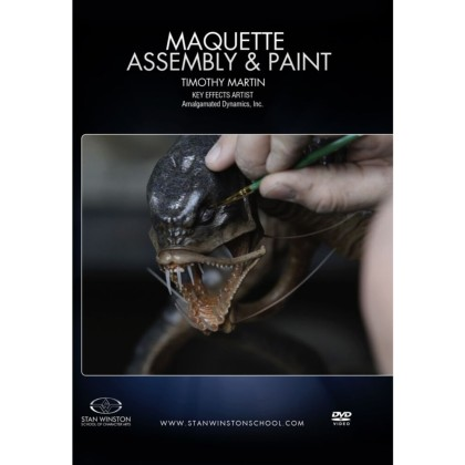 DVD Tim Martin : Maquette Assembly & Paint