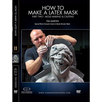 DVD Tim Martin : How to Make a Latex Rubber Mask - Part 2