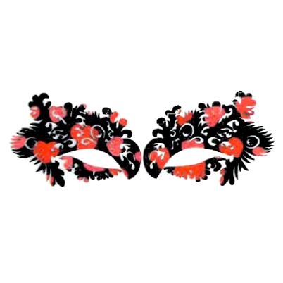 Autocollant Eye Mask Sticker 12