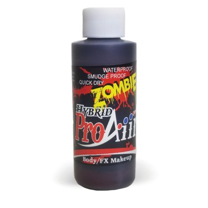 Fard fluide Waterproof ZOMBIE pour aérographe ProAiir HYBRID 2oz (60 ml) - Old Blood