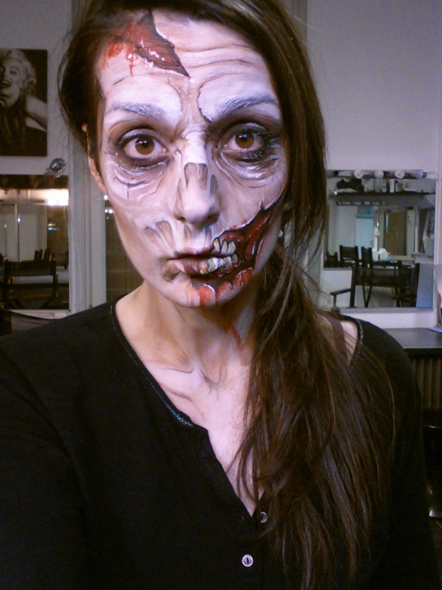 Tutoriel maquillage de zombie
