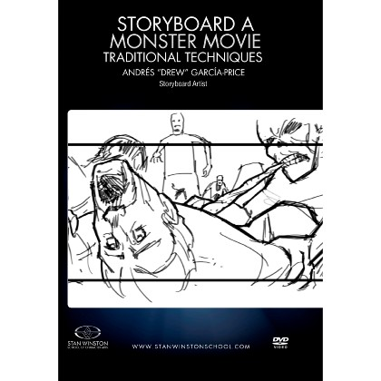 "DVD Andrés ""Drew"" García-Price : Storyboard A Monster Movie - Traditional Techniques"