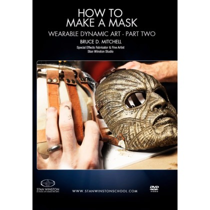 DVD Bruce D. Mitchell : How To Make A Mask - Wearable Dynamic Art Part 2