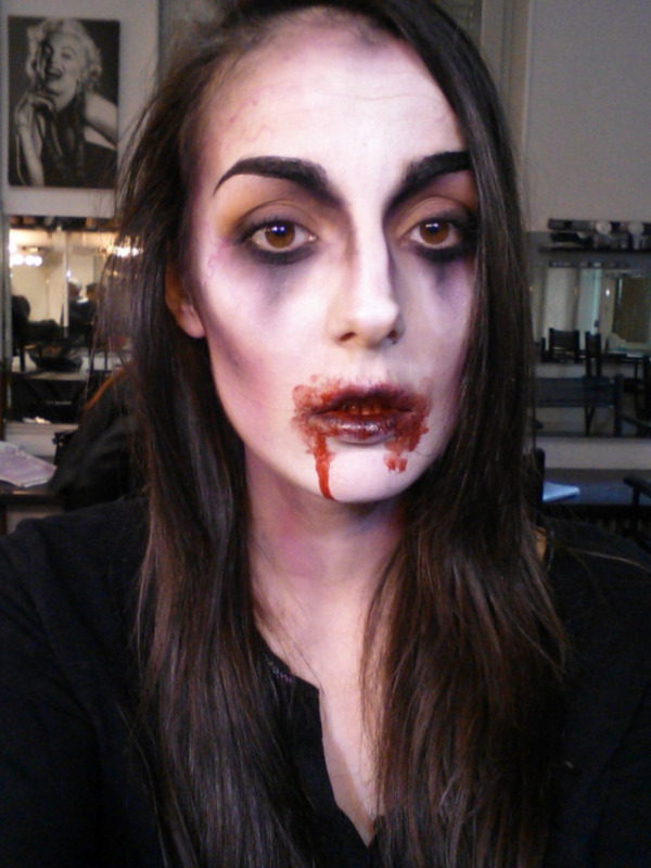 Tutoriel maquillage de Vampire