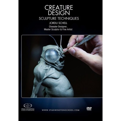 DVD Jordu Schell : Creature Design - Sculpture Techniques