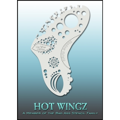 Pochoirs Hot Wings 8001