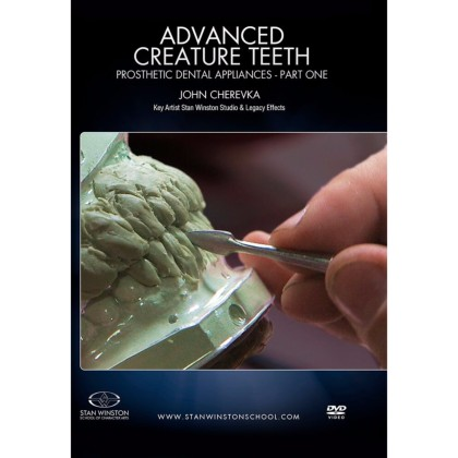DVD John Cherevka : Advanced Creature Teeth: Prosthetic Dental Appliances Part 1