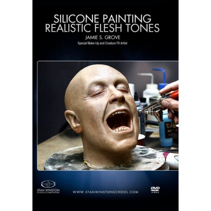 DVD Jamie Grove :  Silicone Painting: Realistic Flesh Tones