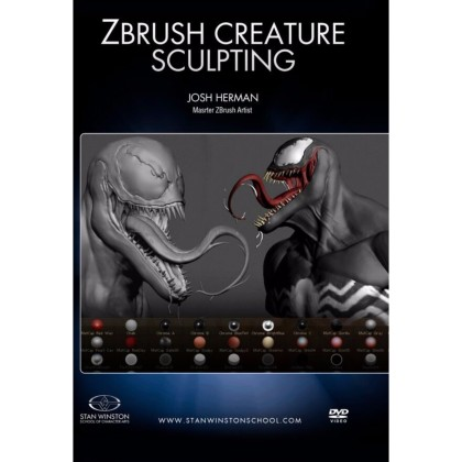DVD Josh Herman : Zbrush Creature Sculpting